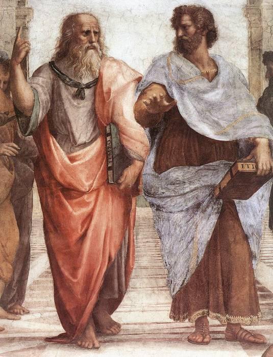 Պլատոն և Սոկրատես
