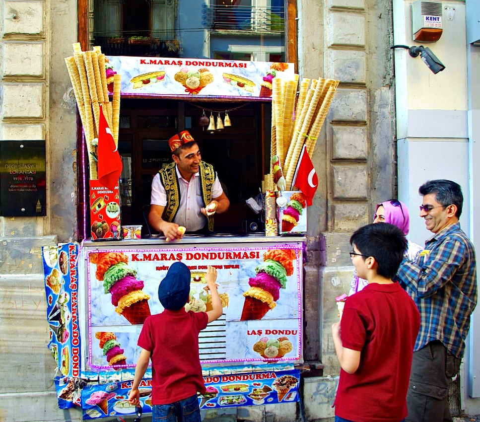 Ice Cream in Turkey