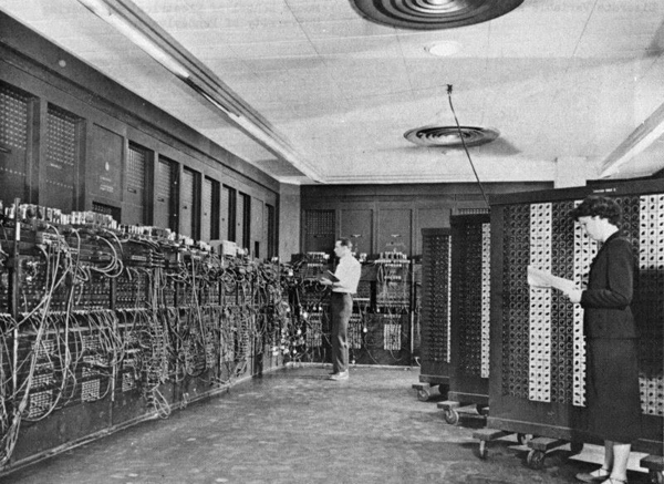 2. ENIAC - первый в мире компьютер.
