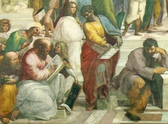 Արիստոտելը և իր աշակերտները