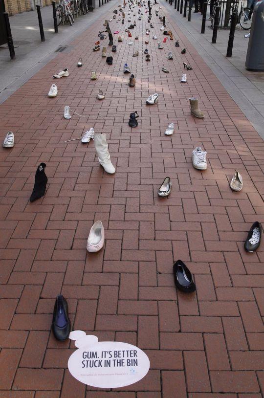 Կոշիկների շքերթ