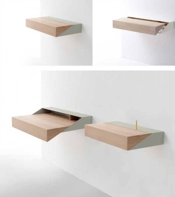 small-pull-out-desk-Space-Saving-Hideaway-Desks-for-Small-Apartment-Designs