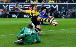 Mkhitaryan Goal Against Schalke