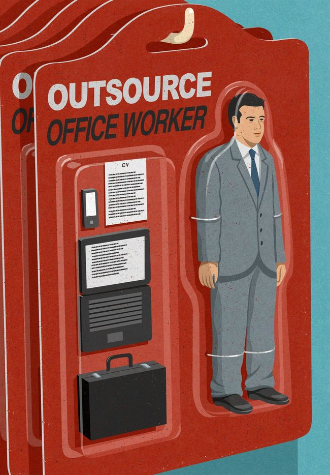 10. Always Outsourced