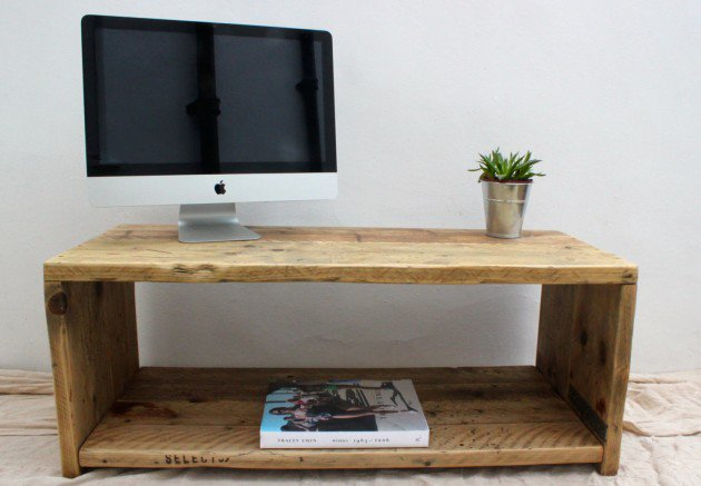 Reclaimed Wood TV Stand or Coffee Table